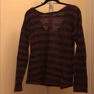 Bethany Mota collection Striped Sweater